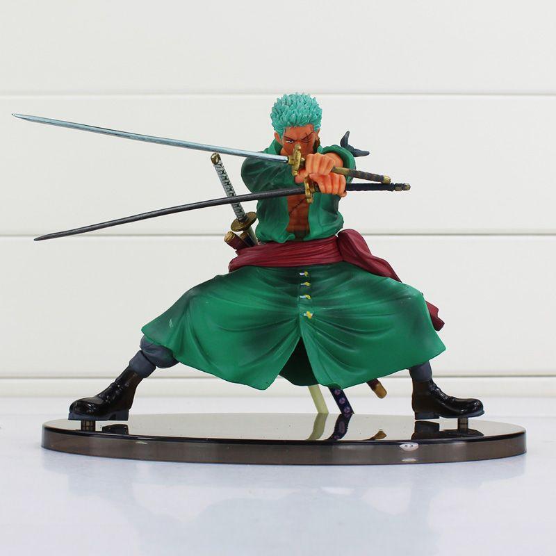 Tek Parça Roronoa Zoro PVC Şekil Oyuncak Kesin Savaş Sürüm PVC Action Figure Koleksiyon Model Oyuncak