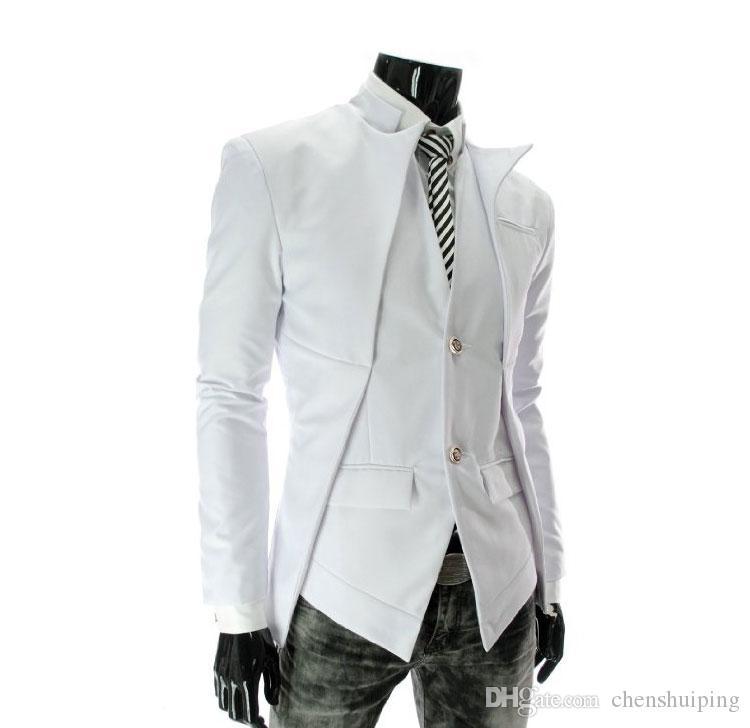 Hot sale New British Style Slim Men Suits Mens Stylish Blazer Casual Business Fashion Jacket Men's Clothing