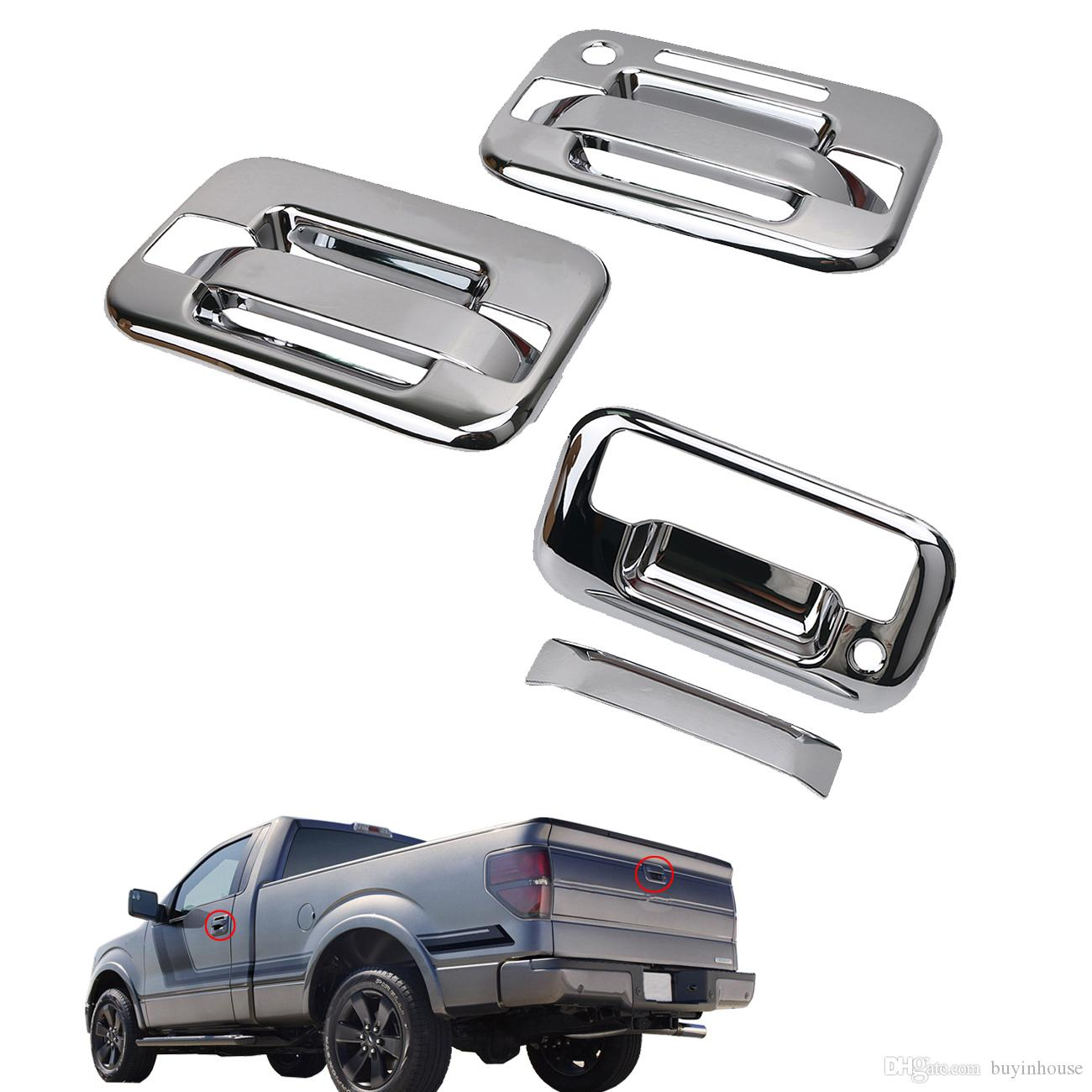2018 Chrome 2 Door Handle Cover + Tailgate Handle Cover For Ford F150 F 150 2004 2014 Rc026 From Buyinhouse $31.48 | Dhgate.Com  sc 1 st  DHgate.com & 2018 Chrome 2 Door Handle Cover + Tailgate Handle Cover For Ford ...