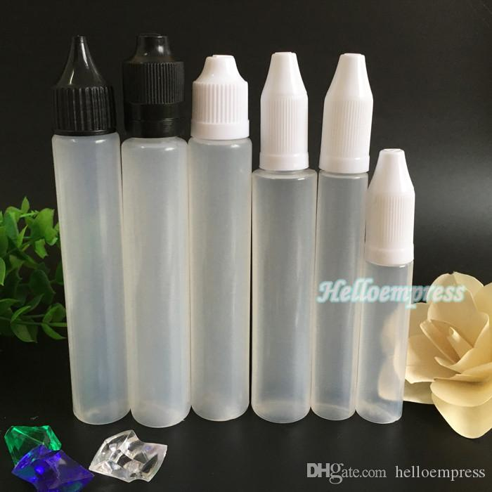 Bottle 10ml 15ml 30ml Dropper Plastic PE Eliquid Empty Bottle E juice Bottles Pen Shape bottle 7 styles