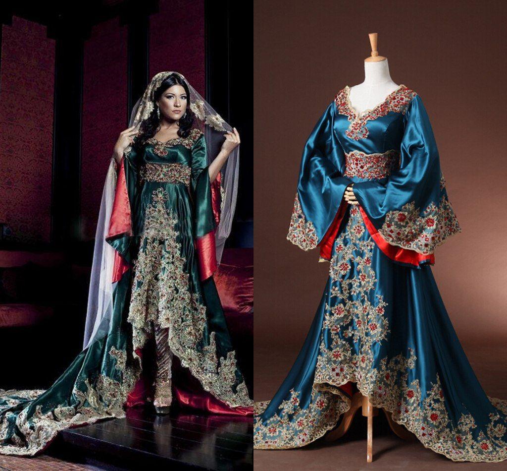 Großhandel Zahy Nach Maß Arabisches Dubai Kaftan 2015 Brautkleid ...
