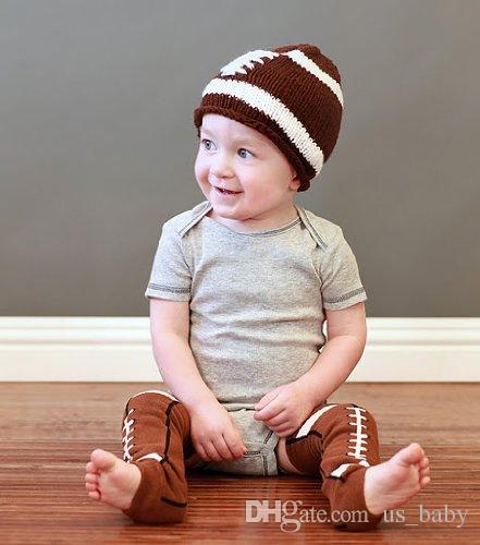 Bebé Navidad Calentador de piernas Bebé fútbol marrón Calentadores de piernas calcetines infantiles Legging Medias Calentadores de piernas calentadores de brazos para adultos