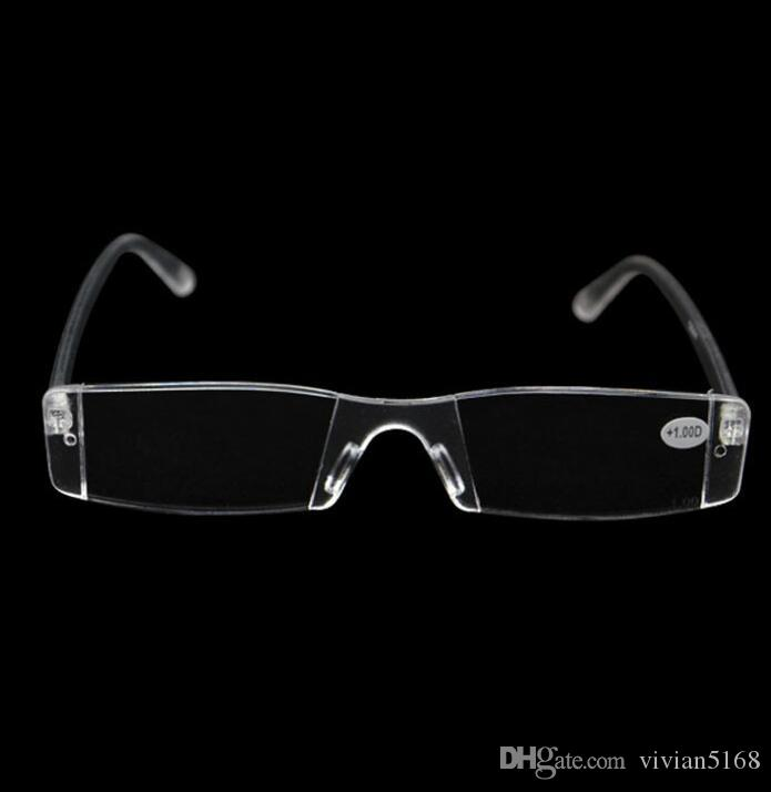 7a1b40bdb7b Cheap Reading Glasses Slim Plastic Tube Reading Eyeglasses Plastic Case  With PC Tube Case Clip For Olders +1.0 +1.5 +2.0 +2.5 +3.0 +3.5 +4.0  Flexible ...