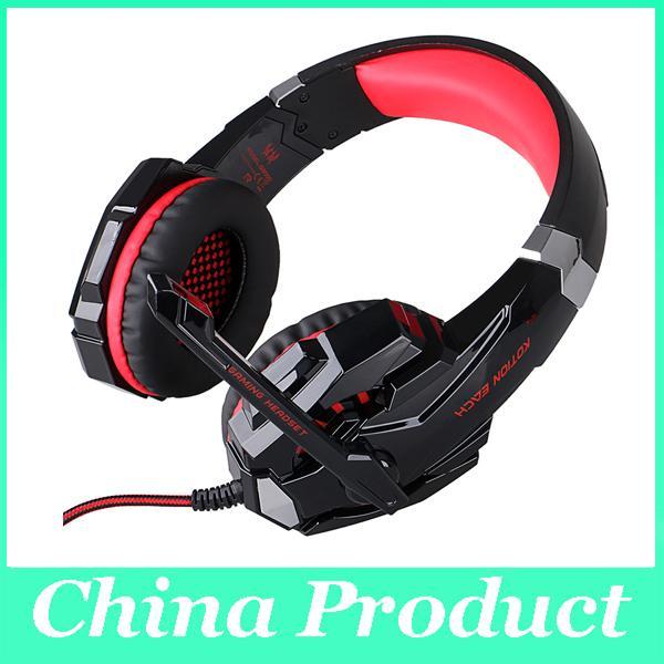 44b14e4da4d KOTION EACH G9000 3.5mm Gaming Headphone Headband Headset With Microphone  LED Light For Laptop Mobile Phones/Xbox ONE/PS4 010008 Headphone Amplifier  Razer ...