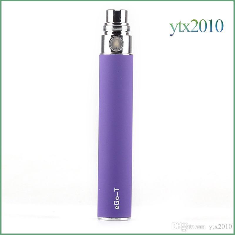 Ego T Battery For Electronic Cigarettes E-cig 650mah 900mah 1100mah for 510 Thread Ce4 Ce5 MT3 H2 Blister case or Zipper kit