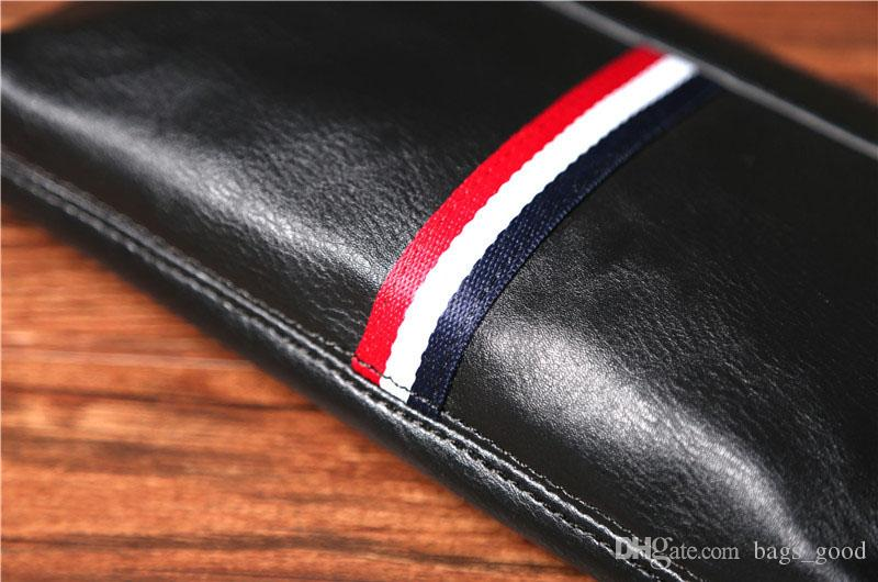 mode couleur en cuir hommes sac à main casual hommes sportswear hommes portefeuille sac à main PU portefeuilles livraison gratuite