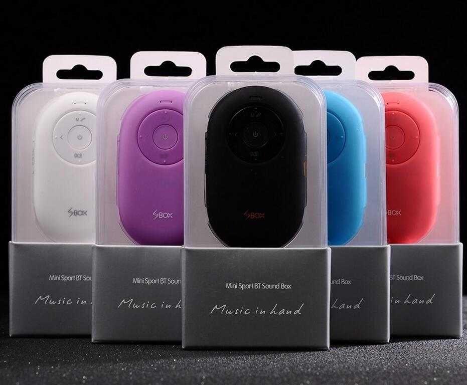 Portable Mini Bluetooth Speaker, Handsfree Calling, Wireless Camera Remote Shutter Speakers for iPhone/iPad/iPod/Samsung