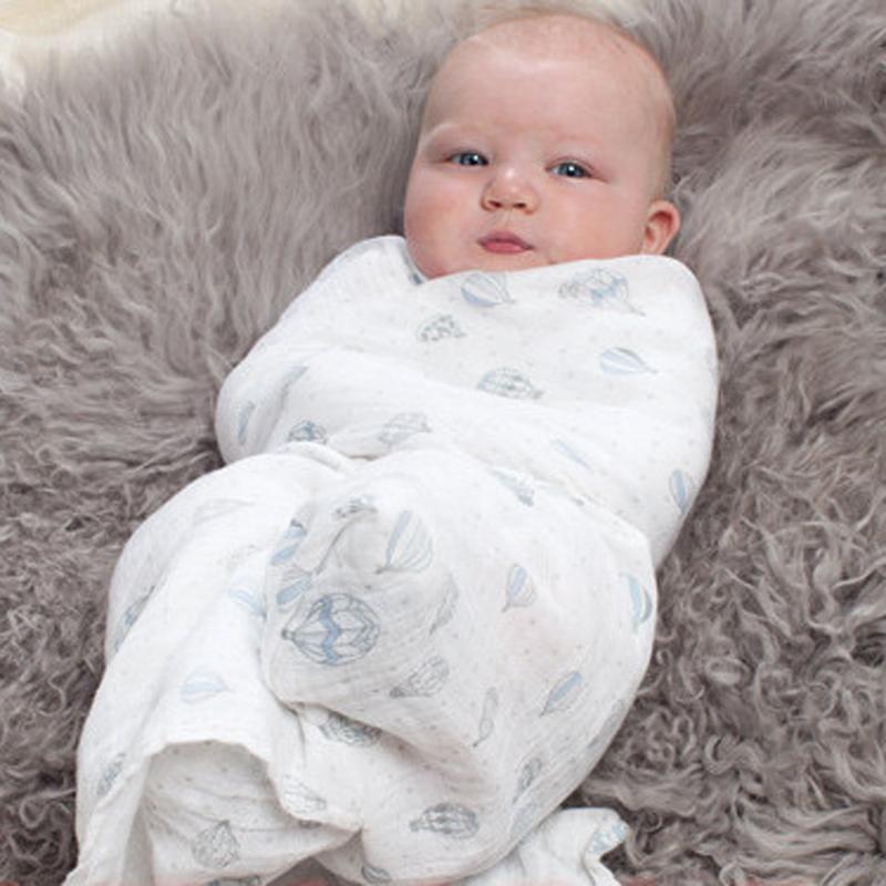 Aden Anais Bamboo Muslin Cotton Newborn Baby Bath Towel