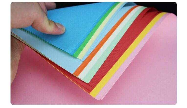 Bunt 210MM * 297mm 80g A4 Papier Natur pur Holz Druckpapier Kopierpapier Fax Papier für Drucker Computer-Maschine für Bürobedarf