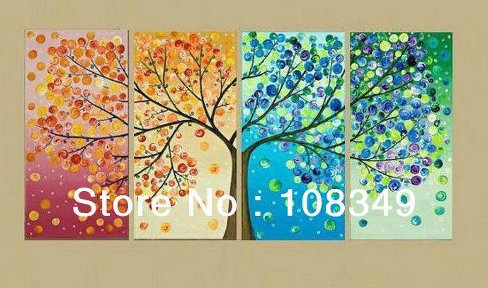 4 Seasons Wall Art - Elitflat