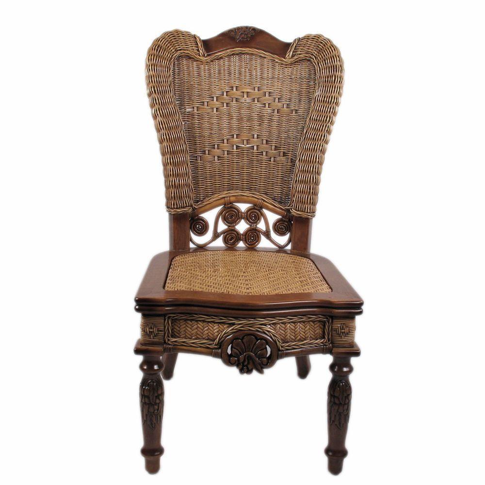 Acheter Chaise En Bois Avec Osier Enron House Sculpte Pret Pour Le Fauteuil De Table Americain Jiangsu Province 94682 Du Xwt5242