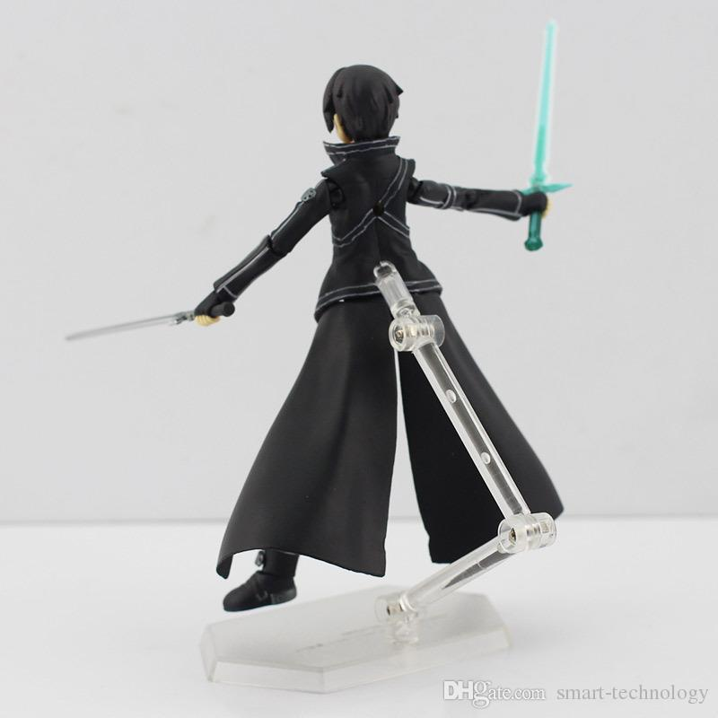 Anime Sword Art Online kirigaya kazuto Figma 174 PVC Action Figure Collectible Model Toy for kids toy 15CM
