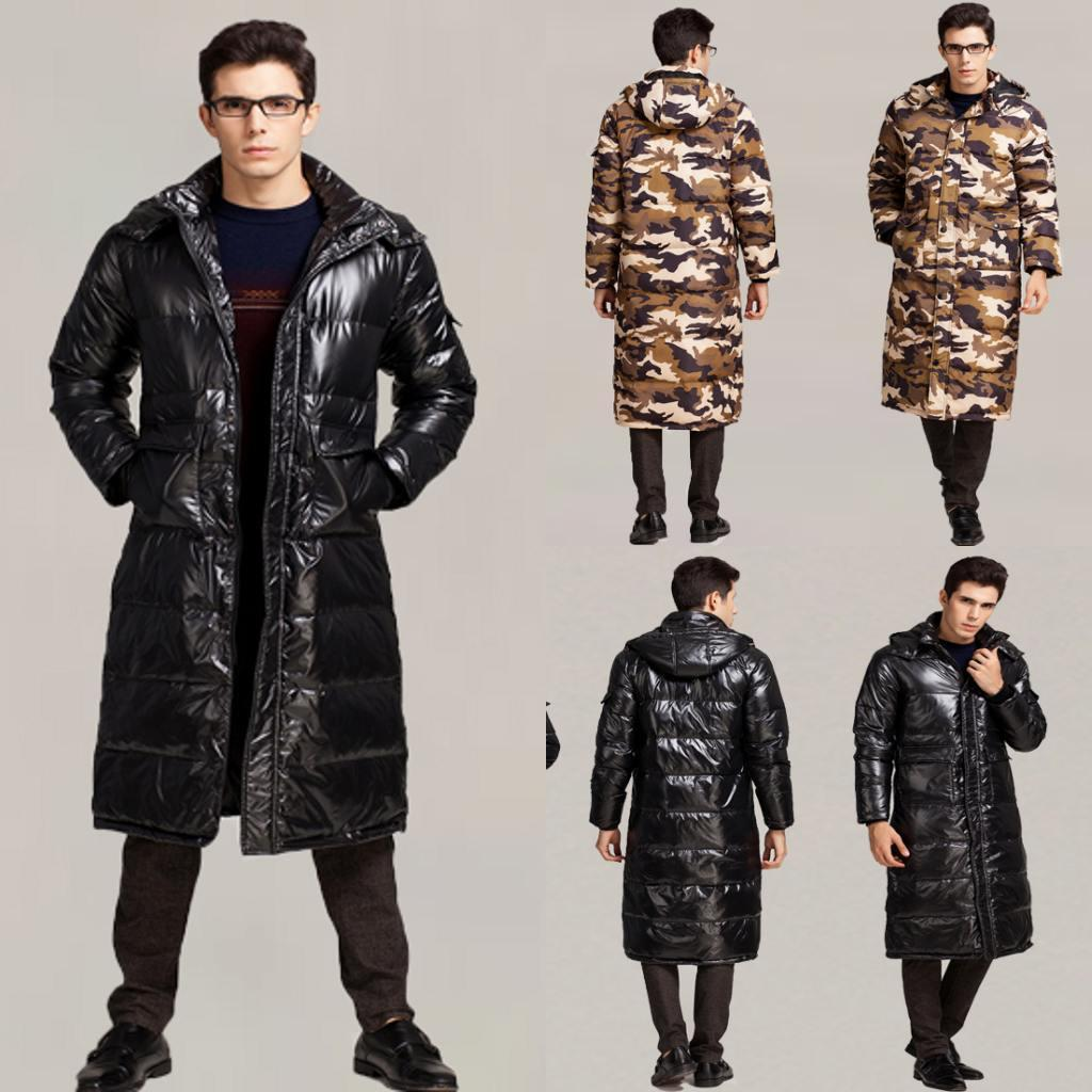 2017 Best Selling Mens Down Parka Fur Collar Winter Thick White ...