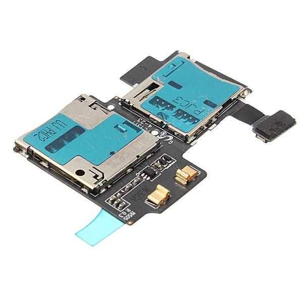 Nouveau prix le plus bas remplacement carte SIM lecteur de carte mémoire plateau de support fente pour Samsung Galaxy S4 I9500 I9505