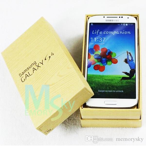 Original refurbished Samsung Galaxy S4 i9500 5.0inch unlocked phone 13MP Camera Quad Core 16GB Storage hot sale DHL shipping Smart Phone