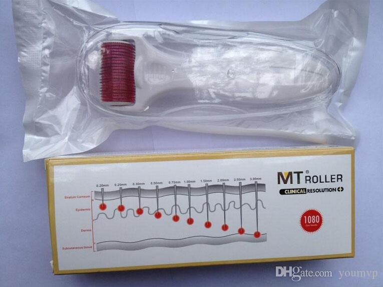 MT Body Derma Roller 1080 Nålar MT 1080 Nålar Dermaroller för hudskönhet 0,2 mm till 3,0 mm