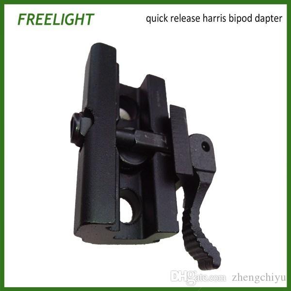 Quick Detach Cam Lock QD Bipod Sling Stud Adapter For Harris Style Bipod Fits onto Weaver or Picatinny Rail mount