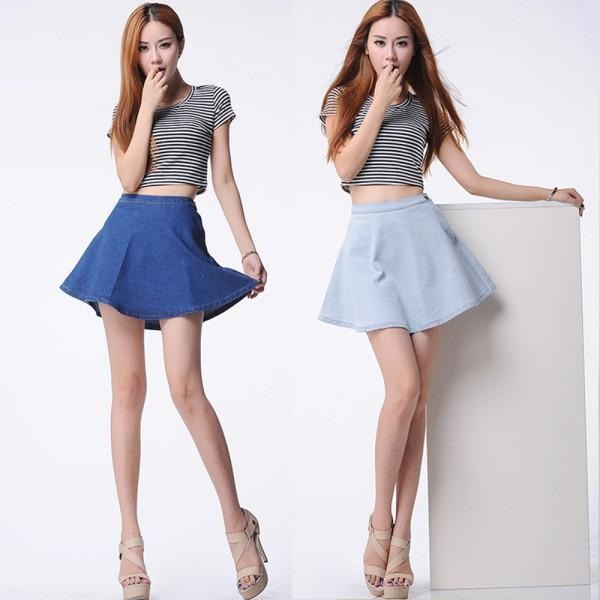 Sexy girls with skirt