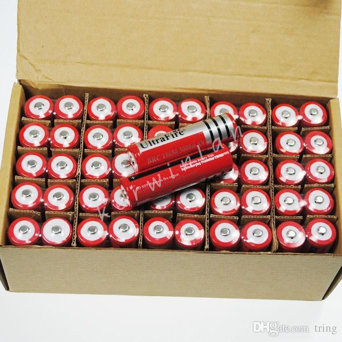 18650 3.7v 4200mAh Célula de batería de ion de litio recargable UltraFire para cigarrillo electrónico LED bicicleta linterna