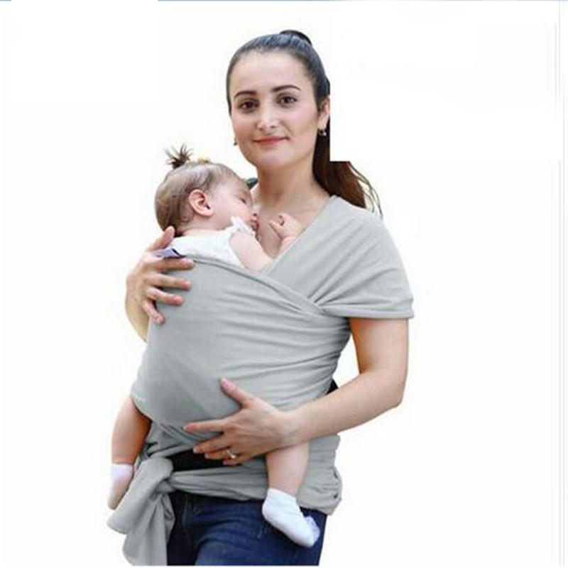 f2124d26f0a Compre Macio Do Bebê Envoltório Canguru 12 Cores Baby Sling Ergonômico Baby  Carrier Capa Mochila Para Crianças Crianças Hipseat Capa De Enfermagem De  ...