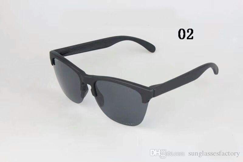 Nuovo arrivo Classic Frogskin Half frame Occhiali da sole Fashion Occhiali polarizzati Occhiali da vista Occhiali da sole esterno