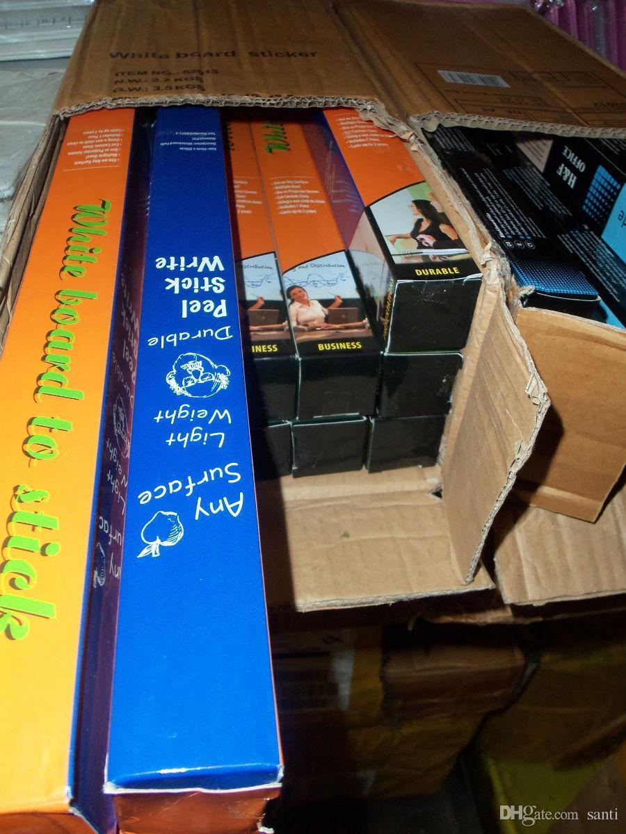 Mode Chaude 45x200 CM Amovible Blackboard Autocollant Vinyle Chalkboard Wall Sticker Enfants jouet éducation jouet peinture conseil