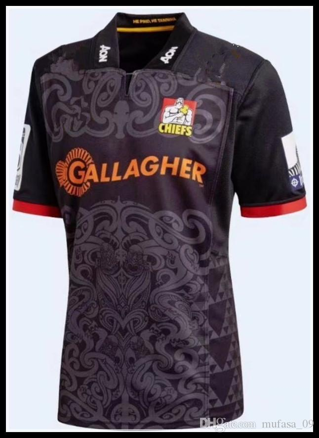 2019 New Zealand 2018 Gallagher Chiefs Rugby Jerseys NRL National Rugby  League Chief Rugby Shirt 18 19 Chiefs Shirts S 3xl From Mufasa 09 4ad52cf03