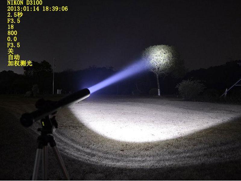 New CREE Q5 LED Tactical 18650 Flashlight Torch Long Light Baseball Bat Shape 3 Mode 100% Brand New.