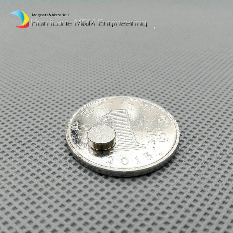 1 pack N42 NdFeB Magnet Disc Diameter 6x2 mm Dia. 0.24'' Precision Magnet Neodymium Magnets Cylinder Sensor Rare Earth Magnets