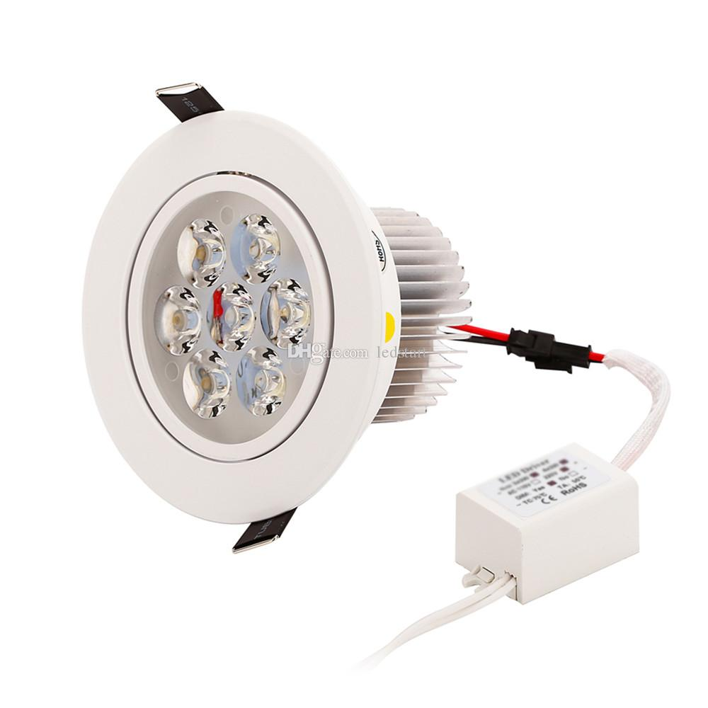 Dimmable LED Recessed Downlight 9W 12W 15W 21W 27W 36W Led Down Lights AC85-265V led Lighting Warm/Pure/Cool White CE ROHS