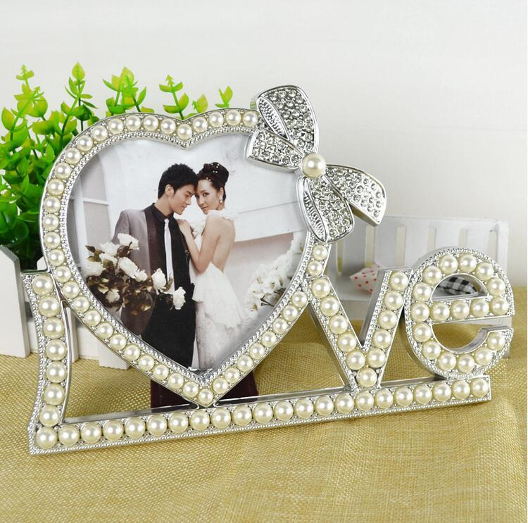 2019 Art Frames Luxury European Style White Photo Frame For Happy