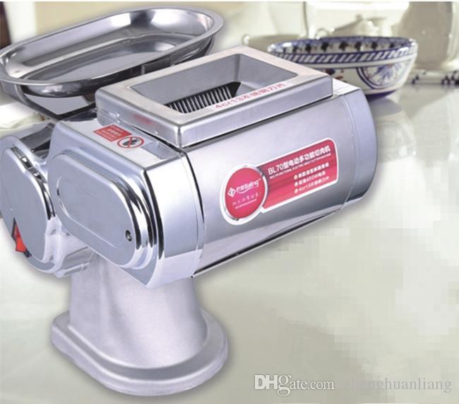 Kostenloser Versand Kleiner Fleischschneider, Fleischschneidemaschine, Fleischschneider, weit verbreitet im Restaurant