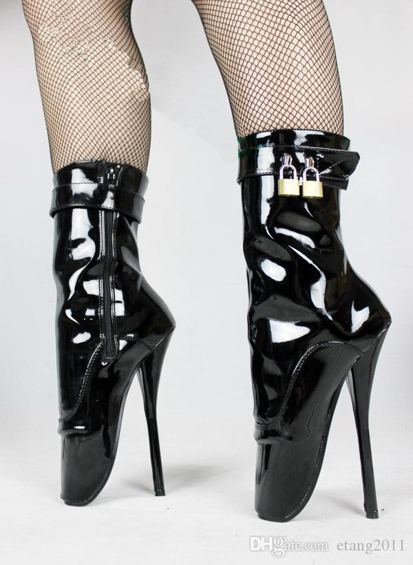 Sex toys BDSM sm game fetish thigh high bondage heeled Special sexy high  heel ballet Purpose boots for women ug shoes ankle WELLIES