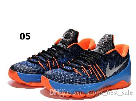 d74b999f8fd4 2015 Kevin Durant KD 8 Basketball Shoes V8 Bright Crimson With Tick KD 8  Sports Shoes Discount Leather Mens Basketball Sneakers Us 7 12 Canada 2019  From ...