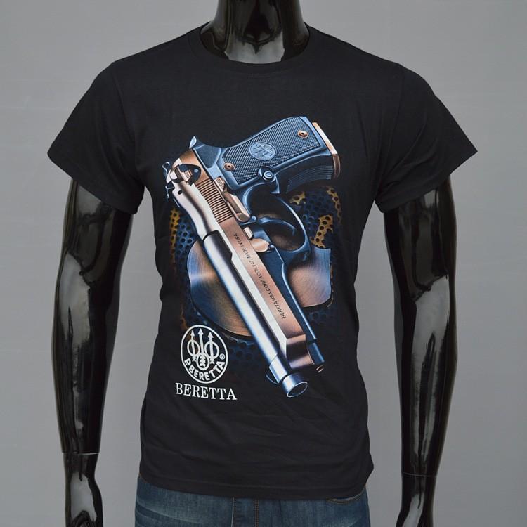 S 3xl Cotton Gun T Shirts For Men Summer 2015 Camisa Masculina ...