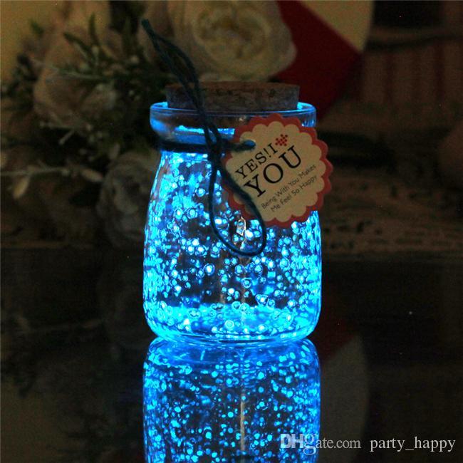 Decoraciones de mesa de centro de agua 1 X Perlas de agua-AZUL-Centro de mesa Boda de la boda Relleno de vaso-hace 6 galones Nueva decoración del banquete de boda