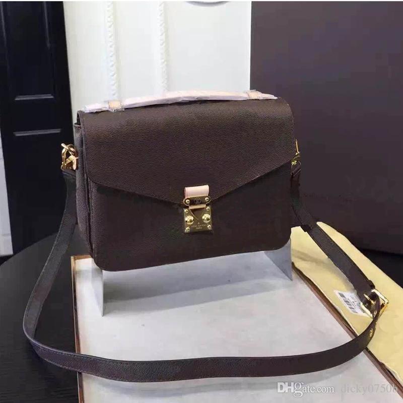 En gros Nouveau orignal réel en cuir véritable dame sac de messager mode sacoche sac à bandoulière sac à main sac presbyte téléphone portable sac à main