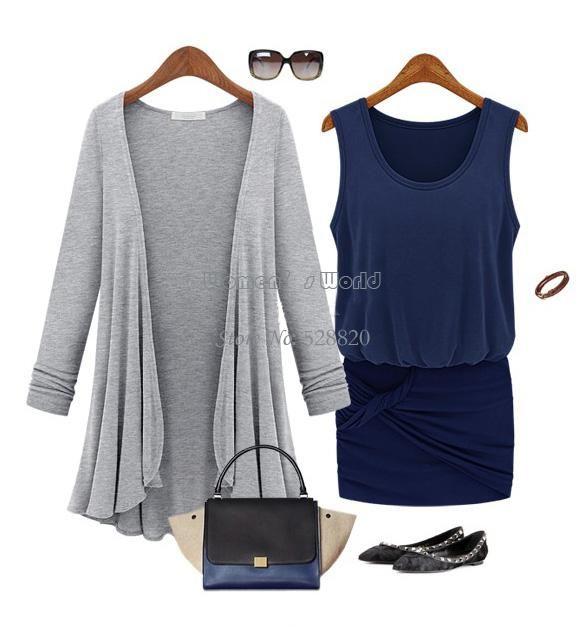 Hot Moda Swetry 2014 Kobiety Moda Długiego Size Serdigan Lato Dzianinowy Sweter Płaszcz Dla Kobiet B3 SV007488