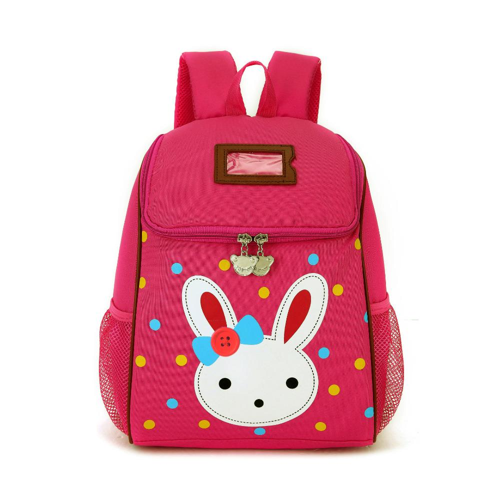 2017 Lovely Rabbit Cartoon School Bags For Baby Girls Children Backpacks  Little Kids Kindergarten Bag Preschool Mochila Infantil Backpacks For Boys  Hype ... d7562607e3ad1