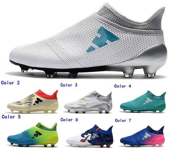 0f069ee242ee5 2018 Hot Men X 16 Purechaos FG AG Soccer Shoes Mens Messi 16 ...