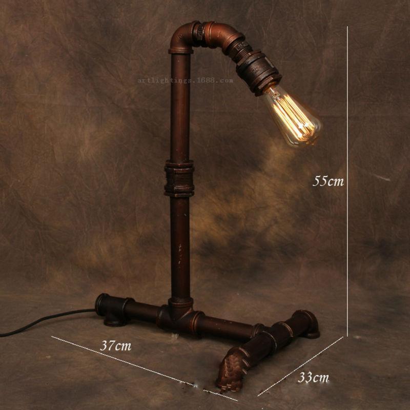 2019 Vintage Floor Light Industrial Edison Lamp American