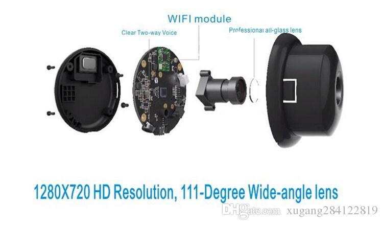 Telecamera Xiaomi Smart CCTV originale Piccole formiche Webcam intelligente Wireless IP Camcorder WiFi Microfono incorporato Videocamera Xiaomi yi