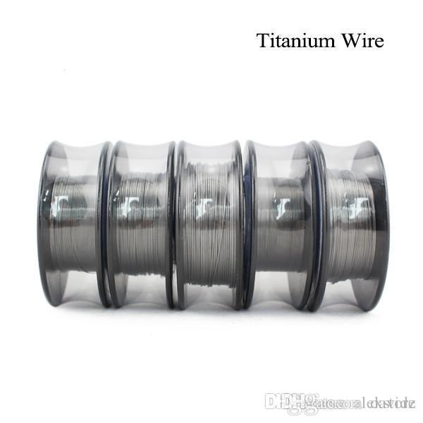Vapor tech titanium heating wire resistance 30 feet awg 26 28 30 vapor tech titanium heating wire resistance 30 feet awg 26 28 30 gauge coil for temp control tc vape mod pk ni200 dhl keyboard keysfo Image collections