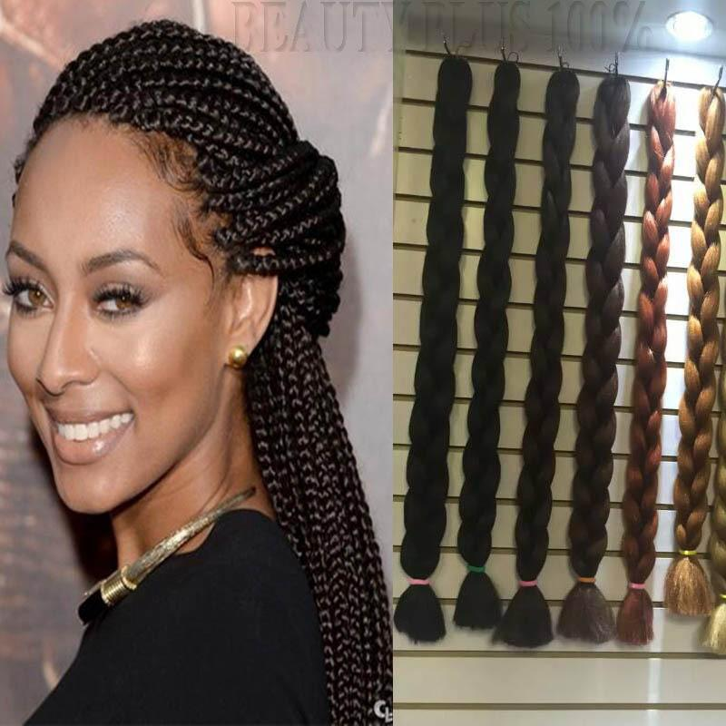 Good Quality 16% Kanekalon Xpression Braiding Hair 16 16g Box ...
