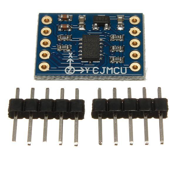 Nuovo ADXL345 Modulo di inclinazione digitale a 3 assi accelerazione di gravità AVR ARM MCU Arduino di piccole dimensioni senza tracciamento