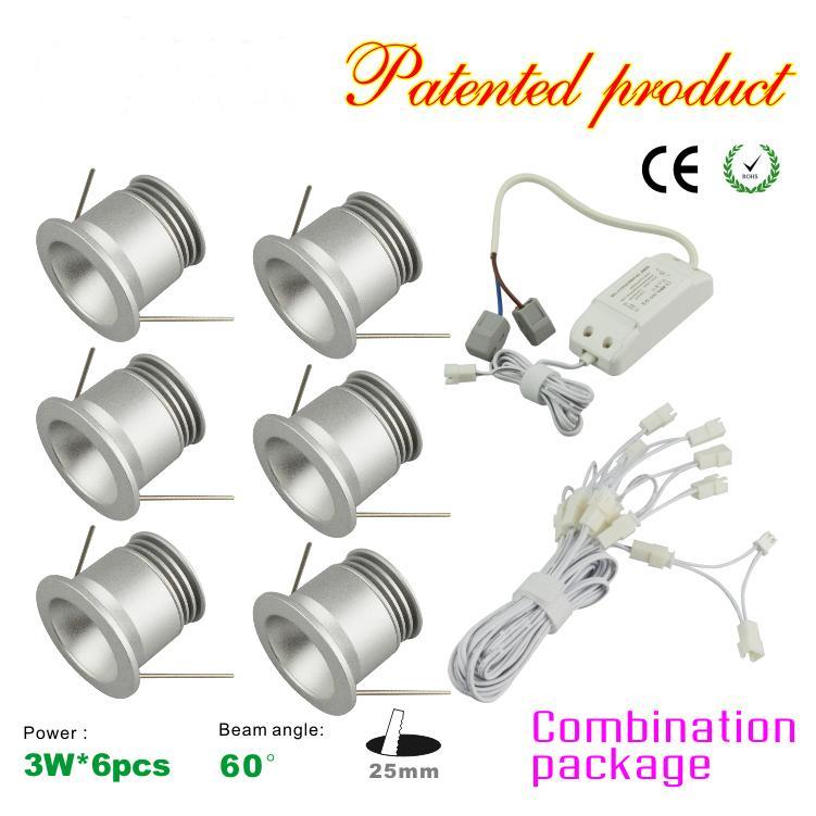 Mini 3w Led Ceiling Light Downlight 85 277avc Led Drive + Wire Kit ...