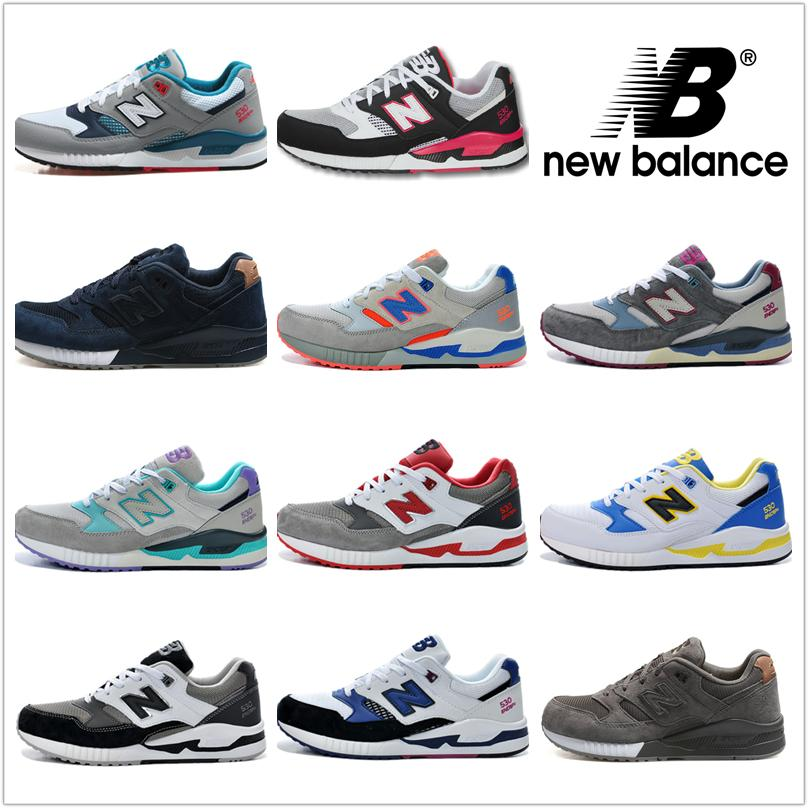 2018 New Balance Running Shoes For Men Women Sneakers Cheap Nb 530 Fashion  Shoes Retro Athletic Boots 100% Original Sport Shoes From Nbpartner, ...