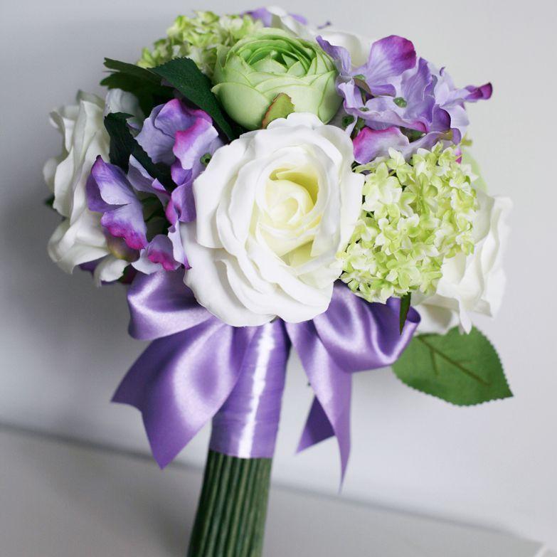 Silk Fall Wedding Bouquets. Seasonal Bouquets For A Fall Wedding ...