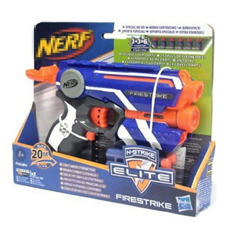 Cool Guns Toys For Boys : Nerf gun elite n strike firestrike sniper soft bullets