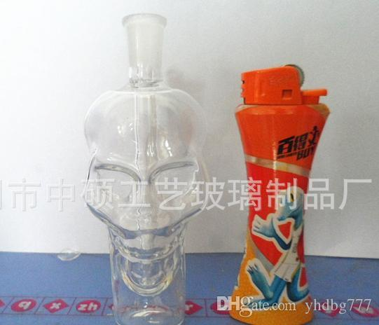 Petit verre pot poignée crâne accessoires usine gros Les directe